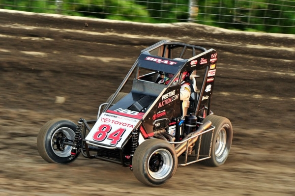 "Chad Boat, whose father Billy won the ""Belleville Midget Nationals"" in 1995, sits 5th in the USAC National Midget point standings."