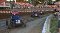 USAC NOS Energy Drink National Midgets return to Sun Prairie, Wisconsin's Angell Park Speedway on Sunday night, September 5.