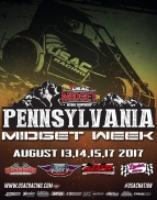 RACEDAY: Lanco - USAC Midgets - Aug. 15, 2017