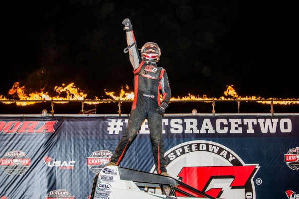 BOESPFLUG A ONE-HIT WONDER NO MORE; RECORDS 2ND CAREER WIN IN ELDORA'S #LETSRACETWO