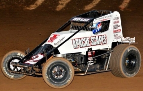 "#02 ""The Real American"" Matt Rossi – 3rd in USAC SouthWest Point Standings."