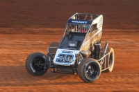 """Turkey Night Grand Prix"" rookie Justin Grant owns two USAC National Midget victories in 2017."