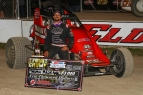 MESERAULL MASTERS ELDORA FOR FIRST-CAREER USAC SPRINT WIN