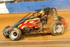 #40 David Byrne of Shullsburg, Wisconsin - 4th in USAC Silver Crown points.