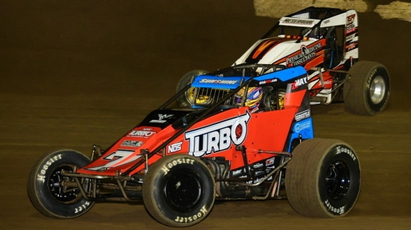 Tyler Courtney has twice won USAC National Sprint and Midget races in the same day.