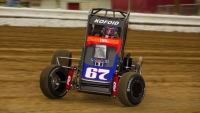 USAC NOS Energy Drink National Midget Rookie Buddy Kofoid.