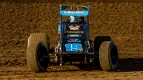 USAC AMSOIL National Sprint Car point leader C.J. Leary was the fastest overall in Wednesday's Western World practice at Arizona Speedway.