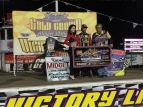 THORSON WINS 4TH IN A ROW AT GRANITE CITY; CRUISES TO NIGHT #2 GOLD CROWN VICTORY