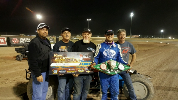 Ryan Bernal and Crew in Victory Circle