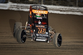 "C.J. Leary hopes to continue the streak of first-time USAC NOS Energy Drink National Midget winners at the ""Shamrock Classic"" this Saturday at the Southern Illinois Center in Du Quoin."