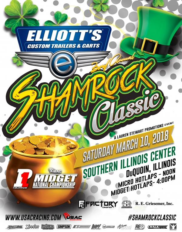 SHAMROCK CLASSIC TICKETS, ENTRY INFO FOR MIDGETS AND MICROS NOW AVAILABLE