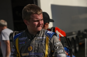 #39BC Zeb Wise became the youngest driver to win a USAC National Midget feature in 2018 at Lanco's Clyde Martin Memorial Speedway.