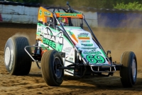 USAC AMSOIL National Sprint Car point leader Kevin Thomas, Jr. has won twice at Terre Haute in 2013 and 2017.