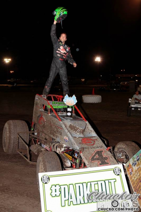"Damion Gardner took the 2016 ""California Sprint Week"" title."