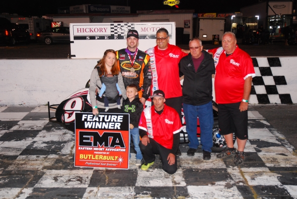 Chris Lamb wins at Hickory