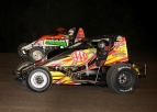 "WEIR WARMS UP GAS CITY FOR USAC NATIONAL VICTORY #1 IN ""MAY MELTDOWN"""