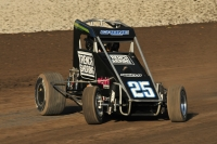 USAC Western States Midget Series top rookie Courtney Crone.