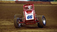 Tony Elliott during the 2001 USAC National Sprint Car season.