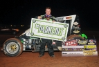 R.J. Johnson wins at Lawton, OK.