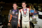Winner Jake Swanson (right) and his cousin, second place Cody Swanson (left) 1-2 at Ventura