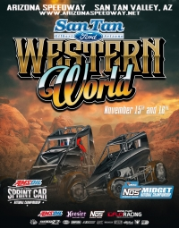 EVENT INFO: ARIZONA WESTERN WORLD SPRINTS - NOV. 16, 2019
