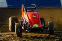 "Chris Windom joined Jack Hewitt as the second three-time winner of the ""Jim Hurtubise Classic"" with Friday night's USAC AMSOIL National Sprint Car victory at the Terre Haute (Ind.) Action Track."