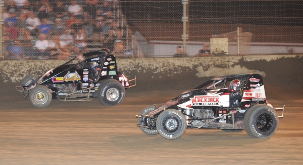 "DARLAND'S 43RD AMSOIL NATIONAL SPRINT CAR WIN COMES ON ""SMACKDOWN"" NIGHT 2"