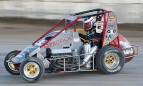 Alex Schutte won Thursday night's USAC Western States Midget feature at Silver Dollar Speedway.