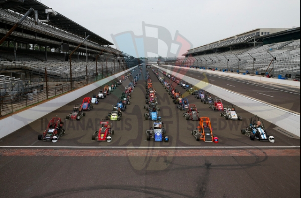 USAC .25 Midget Lap Around IMS Photo Now Available