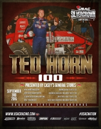 "36 DRIVERS ENTERED FOR SATURDAY'S ""TED HORN 100"" AT DU QUOIN"