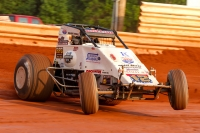 Robert Ballou earned his first win of the USAC AMSOIL National Sprint Car season Sunday night at BAPS Motor Speedway.