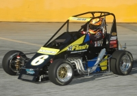 Jessica Bean - 3rd in USAC Eastern Midget standings.
