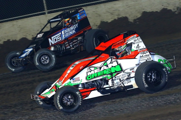 #69 Brady Bacon and #7BC Tyler Courtney at Tri-City.
