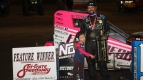 FINALLY! MESERAULL MAKES IT TO USAC MIDGET VICTORY LANE AT HARVEST CUP