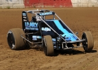 LEARY BREAKS THROUGH, WINS FIRST USAC NATIONAL RACE IN TERRE HAUTE'S SUMAR CLASSIC