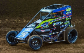 "Tyler Courtney won on Friday the 13th earlier in April at the ""Kokomo Grand Prix."""
