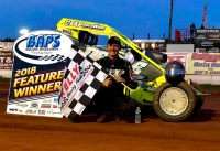 Alex Bright Wins at BAPS Motor Speedway.