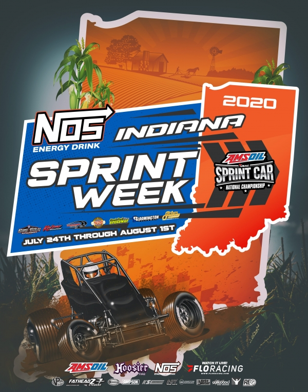 LAWRENCEBURG INDIANA SPRINT WEEK EVENT INFO: 7/26/2020