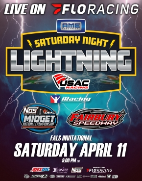$2,020-TO-WIN iRACING AME ELECTRICAL FALS INVIATIONAL SET FOR APRIL 11