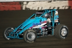 Danny Faria Jr. leads the USAC West Coast Sprints.