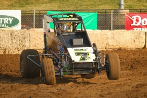 Turkey Night Rookie Tyler Courtney