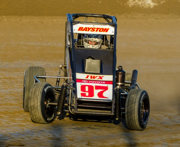 "Reigning USAC P1 Insurance National Midget champion Spencer Bayston has entered for the March 10 ""Shamrock Classic"" at the Southern Illinois Center in Du Quoin."
