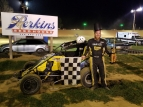 ANDY BAUGH WINS AT SPOON RIVER; MORLEY CLAIMS IMRA TITLE