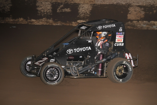 "2017 NASCAR Truck champion Christopher Bell is among the 56 entries for the Saturday, December 16th ""Junior Knepper 55"" at the Southern Illinois Center in Du Quoin."