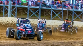NOS Energy Drink Indiana Sprint Week action last week at Plymouth.
