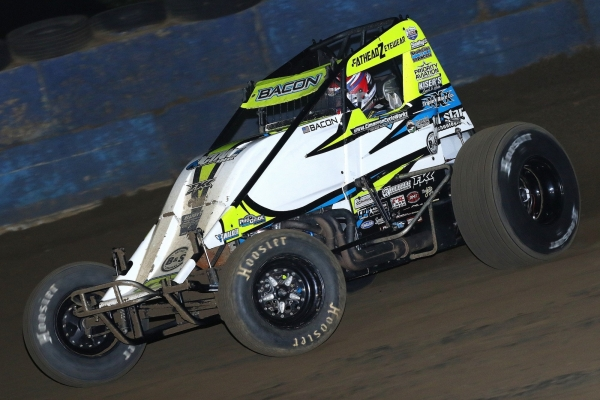 #99 Brady Bacon won at Terre Haute in September.