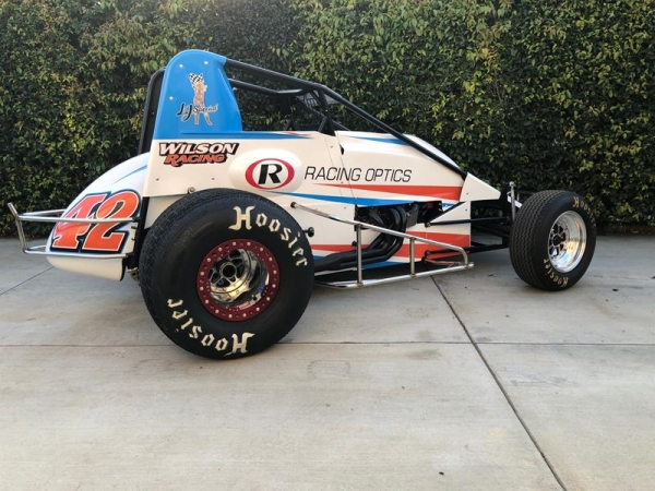 R.J. Johnson's USAC/CRA Sprint Car ride for the 2018 season.