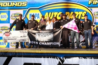 "Kody Swanson & the DePalma Motorsports celebrate their second-straight ""Salt City 78"" win at Syracuse, along with back-to-back Silver Crown Series championships."