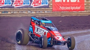 Tyler Courtney became the second driver to win multiple USAC AMSOIL National Sprint Car races at Knoxville Raceway following Saturday night's victory on the opening night of the Brandt Corn Belt Nationals.