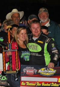 R.J. Johnson claims 10th Arizona victory at Queen Creek.